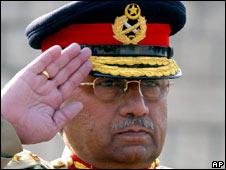 Pervez Musharraf. File pic.