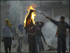 Protests in Srinagar, Indian-administered Kashmir, Nov 10