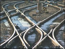 Generic rail tracks