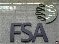 FSA Sign at their building in Canary Wharf