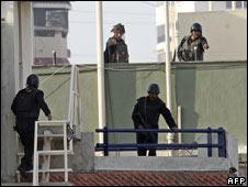 Operations at Nariman House on 28 November