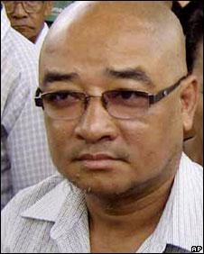 Burmese comedian Zarganar