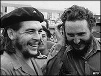 """Dos amigos y camaradas, """"Che"""" y Fidel"""