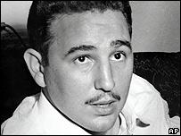 Fidel Castro en 1955