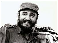Fidel Castro en 1972