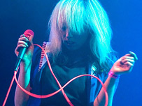 Katie White from The Ting Tings