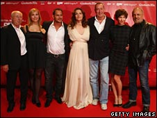 Cast, writer and director