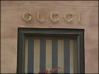 Escaparate de Gucci