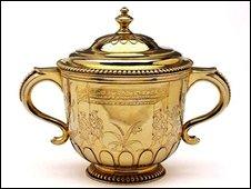 King James II Coronation cup