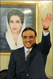 Asif Ali Zardari, presidente de Pakistán