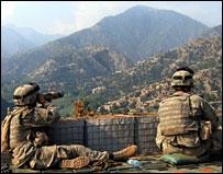 قوات امريكية في افغانستان