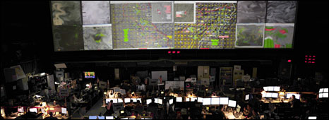 The US Air Force Combined Air and Space Operations Centre