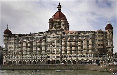 Hotel Taj Mahal en Bombay, este sábado