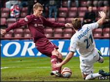 Marius Zaliukas and Kirk Broadfoot