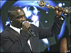 Akon at the World Music Awards