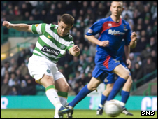 Shaun Maloney scores against Inverness CT