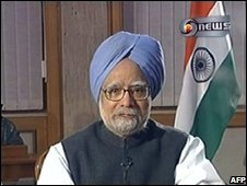 PM Singh addresses the nation after the attacks 27/11/2008