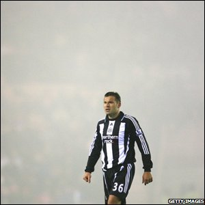 Mark Viduka's face tells the story of the match - the striker makes his return from injury and may wish he hadn't