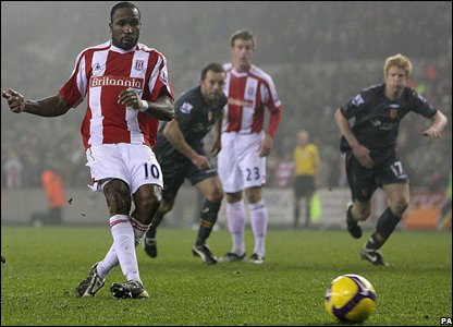 But Stoke's Ricardo Fuller restores parity from the penalty spot to earn his team a precious point