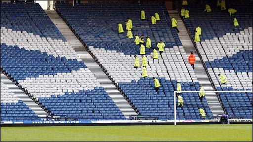 Stewards after a game