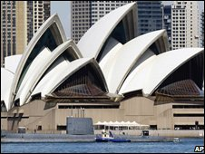 Mr Utzon never visited the completed Sydney Opera House