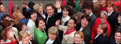 Tony Blair and women MPs