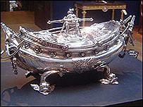 Sopera de plata de la czarina Caterina II