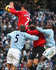 Cristiano Ronaldo was shown a second yellow card for an inexplicable handball