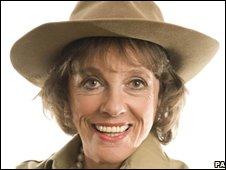 Handout picture of Esther Rantzen