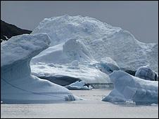 Icebergs (Photo: Iolo ap Dafydd)