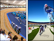 Velodrome and BMX track