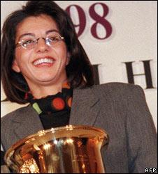 Loumia Hiridjee in 1998