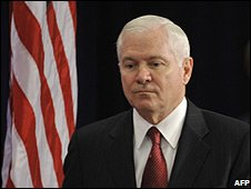 US Secretary of Defense Robert Gates in Chicago (01/12/2008)