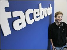 Facebook logo, AP