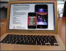 Weezer computer shot