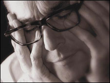 A man under stress (library picture)