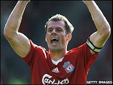 Captain Carragher was elated with Liverpool's win over Man Utd