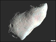 Asteroid Gaspra taken by the Gallileo spacecraft
