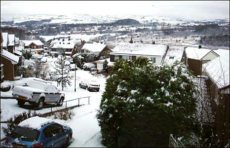 Panoramic view of Rawtenstall: photo Abi Cadogan