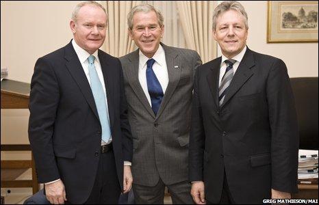 Ministers meet President Bush