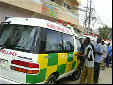 New fleet of Somali ambulances