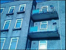 Council flat