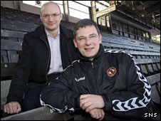 Stephen Thompson and Craig Levein