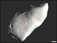 Фотография астероида