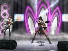 guitar hero screenshot