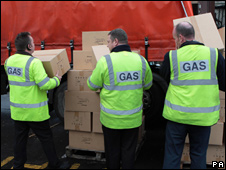 Gas workers