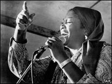 Odetta in the 1960s