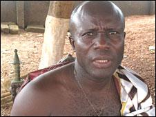 The Chief of Lower Axim, Awulae Attibrukusu III