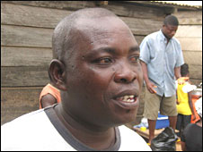 Fisherman Joseph Tandoh