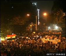 Mumbai protest on 03 December
